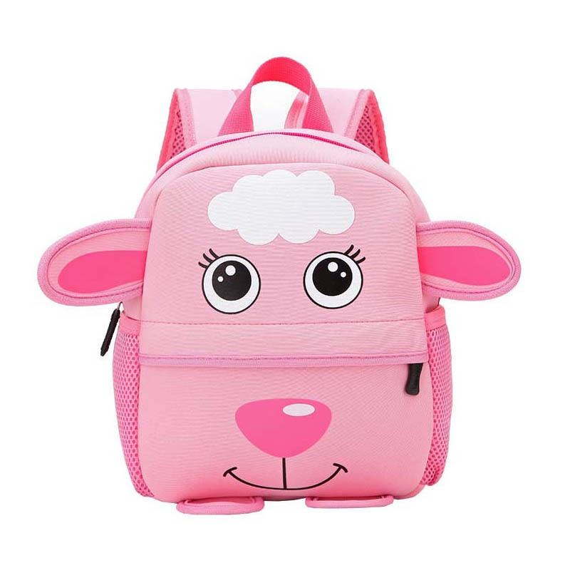 Cartoon Sheep Backpacks for Kindergarten Students Childrens School Backpacks for Kids Boys Girls School Bags for Infant