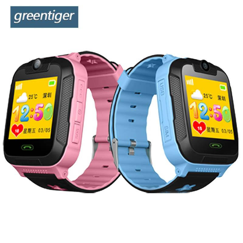 Greentiger TD07S Smart Kids Watch 3G Network GPS LBS Wifi Tracker Location SOS Dial Call Camera Smart Children Watch IOS Android q730 3g kids gps smart watch jm13 gps locator tracker watch with camera for ios android real time 3g network location tracking