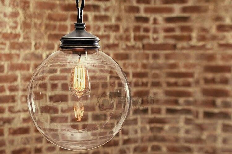 EMS FREE SHIPPING 3PCS Glass ball single pendant light lamps american balcony lighting 8840 защитное стекло для sony f3311 xperia e5 caseguru