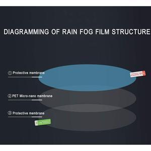 Image 3 - รถกันฝนกระจกมองหลังสติกเกอร์ Flim Anti fog กันน้ำรถกระจกหน้าต่างเปลี่ยน