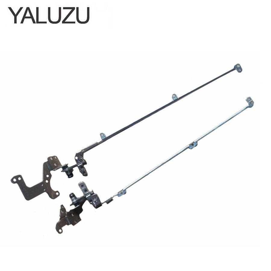 YALUZU Laptop LCD hinges For Acer Aspire V5-572 V5-572G V5-572P V5-552 V5-573 V5-573G Left+Right Notebook LCD Hinge NON-TOUCH new cpu fan for acer aspire v5 452g v5 472p v5 552g v5 572 v5 572g v5 573 v5 573g v5 473g cpu cooling fan
