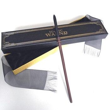 Newest Metal Core draco Magic Wand Coslplay Movie HP Magical Birthday Gift Free Train Ticket