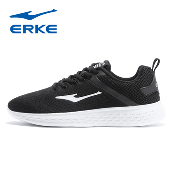 ERKE Mens Training Shoes 2018 Breathable Mesh Lace Up Trainer Jogging Shoes Outdoor Athletic Sport Sneakers for Men Comfortable cross training shoe