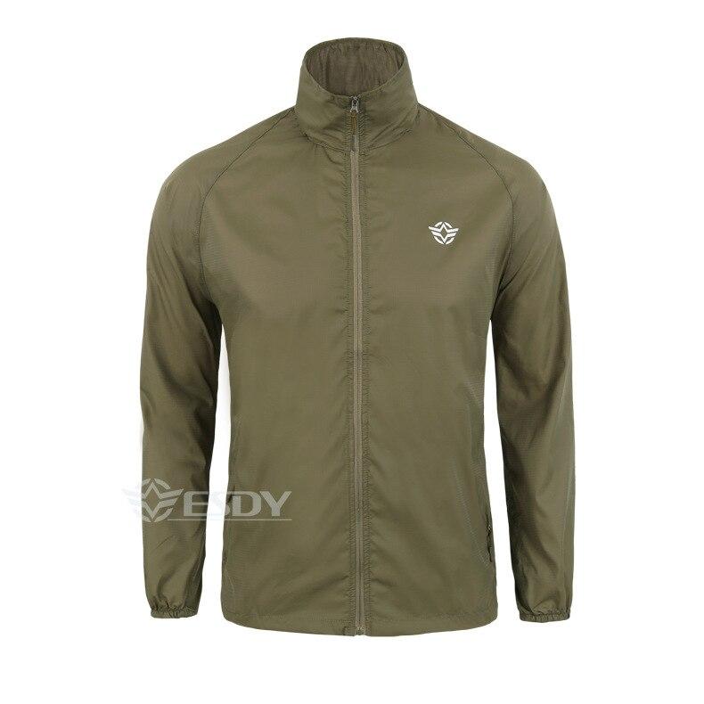 Outdoor Camouflage Skin Dünner UV-Schutzmantel Outdoor-Wanderjacke - Sportbekleidung und Accessoires - Foto 4