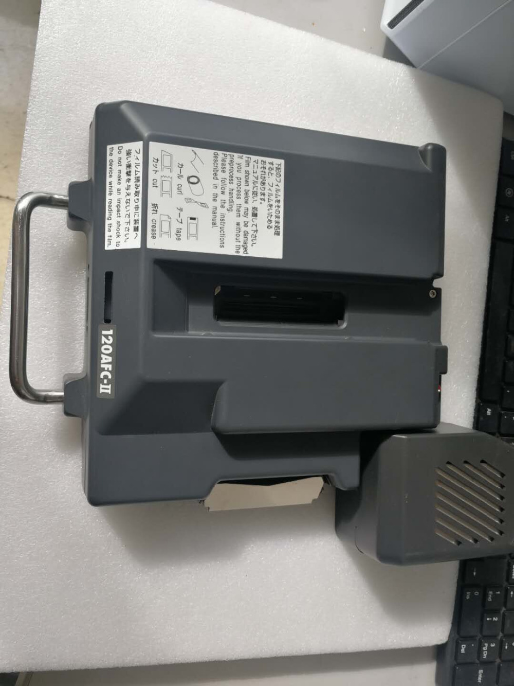 US $13999 0  Used Noritsu film scanner HS1800 / HS 1800 with 120/135 film  carrier,EZ Controller Software and Dongle,good working condition-in Photo