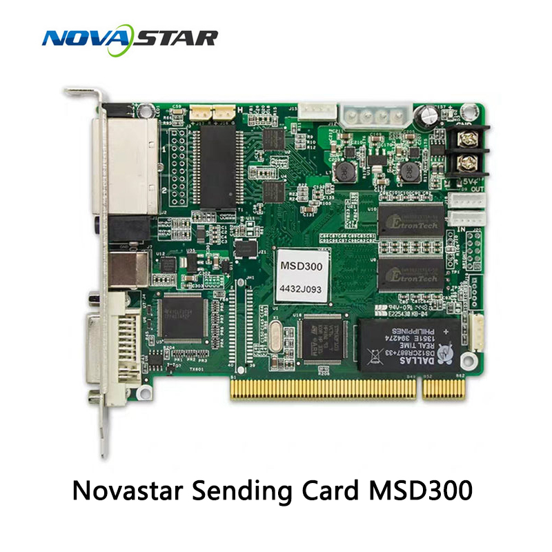 Novastar MSD300 Sending Card Nova Sender Controller For Full Color Led Display Screen Control System