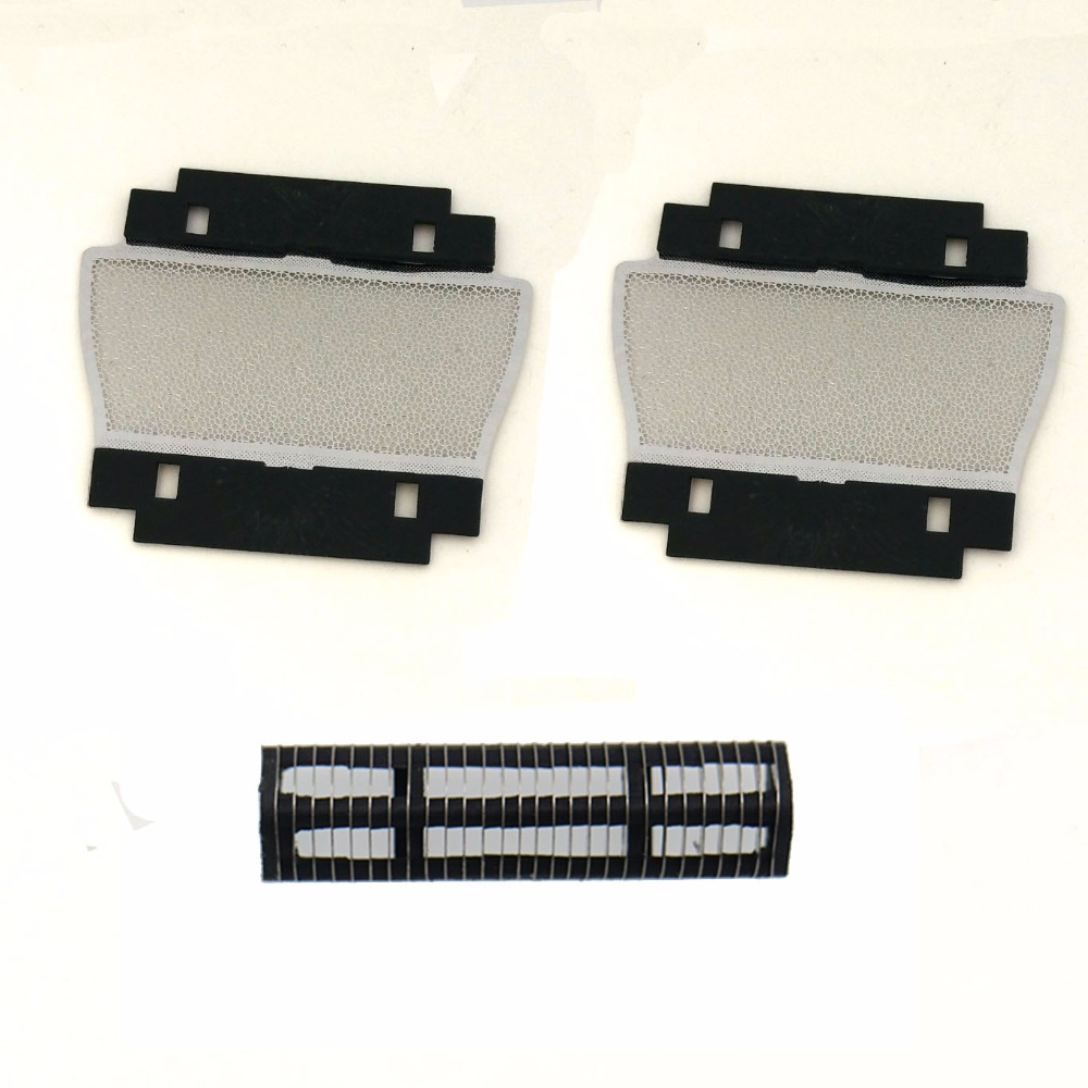 3pcs/set Replacement Shaver Foil With Blade For BRAUN 596 100 200 150 205 209 255 1008 1508 2060 2540S 2560 5459 5461 5462 5596