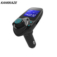 FM Transmitter Bluetooth FM Transmitter Radio Adapter Car Kit With USB Car Charger MP3 Player Support