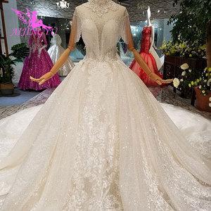 Image 3 - AIJINGYU חתונה שמלות מעצבי שמלת מין למעלה אמא של כלות שמלות תוצרת סין בציר קצר שמלת כלה