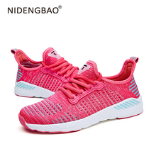 Hot Sale Women Shoes Lightweight Breathable Women Sneakers Fashion Mesh Outdoor Sport Running Shoes Female Athletic Footwear 2018 hot sale woman sneakers sport shoes breathable autumn athletic anti slip casual mesh shoes