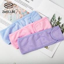 Stretch-Towel Headband Wrap-Head Eyelashes-Extension Makeup Cloth Magic-Tape Spa