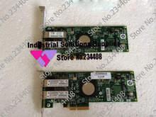 Original LPE11002 PCI-E 4GB HBA dual channel fiber channel card