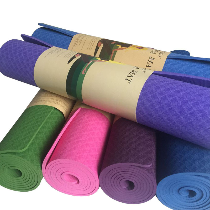 8MM/6MM Yoga Mats For Fitness Tasteless Brand Pilates Mat