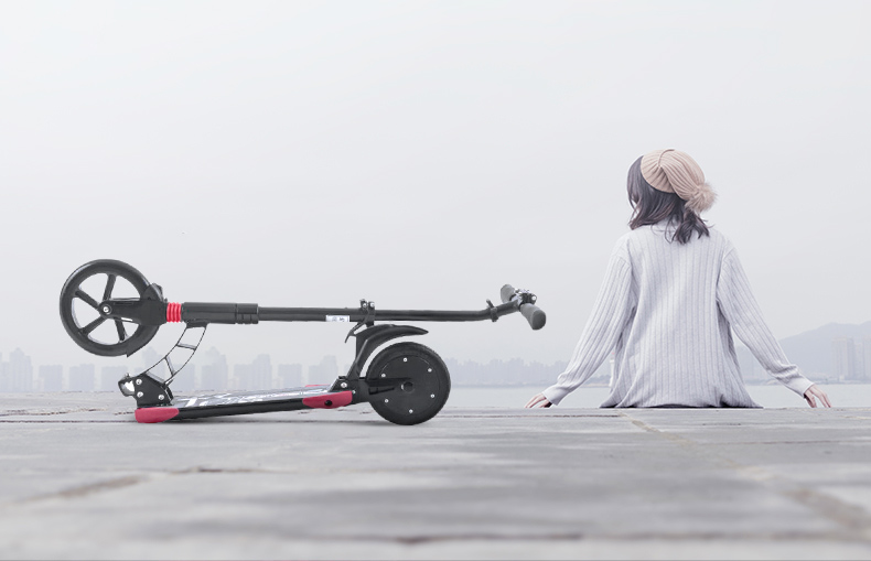 8 pouces iScooter trottinette électrique Intelligent Pliant Électrique longboard Hoverboard Planche À Roulettes 2 Roues Livraison gratuite - 6