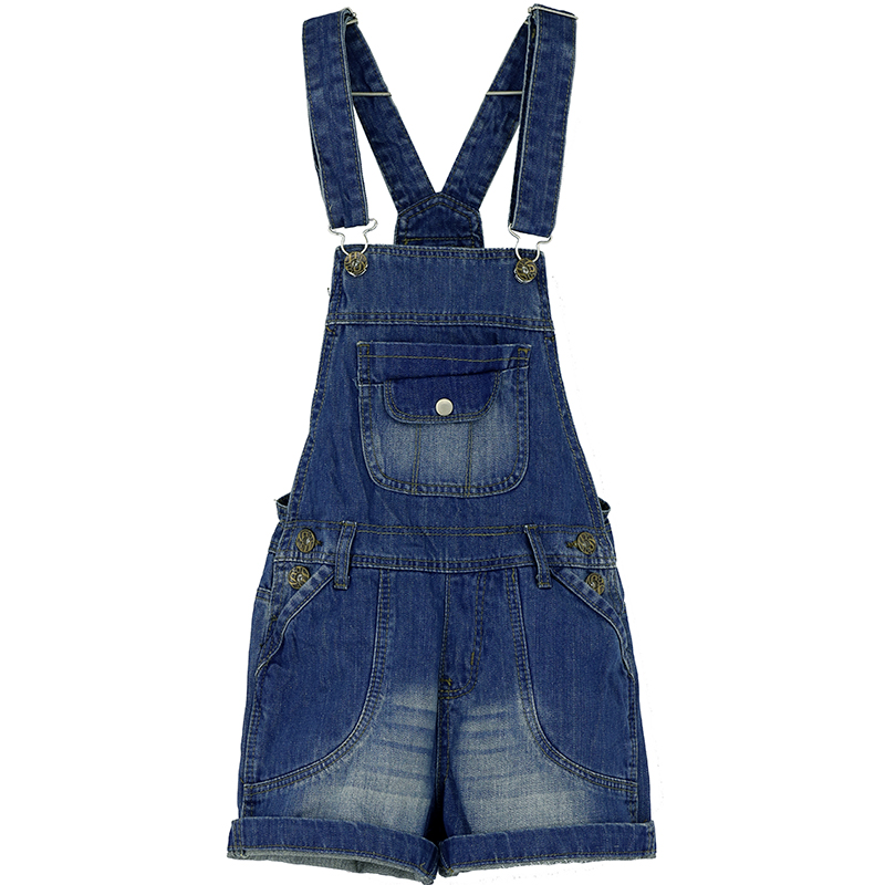Модные капри с вышивкой женский комбинезон брюки женские высокого качества джинсовое изделие свободного кроя плюс размер Летний комбинезон