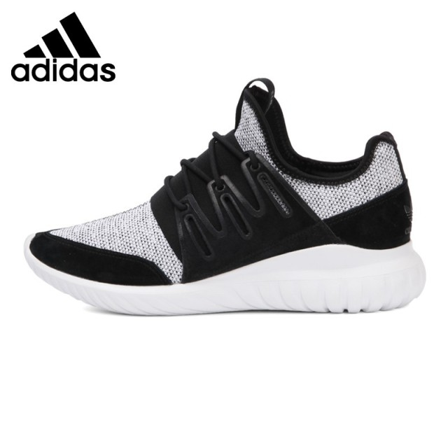 Original New Arrival 2017 Adidas Originals TUBULAR RADIAL Men's  Skateboarding Shoes Sneakers