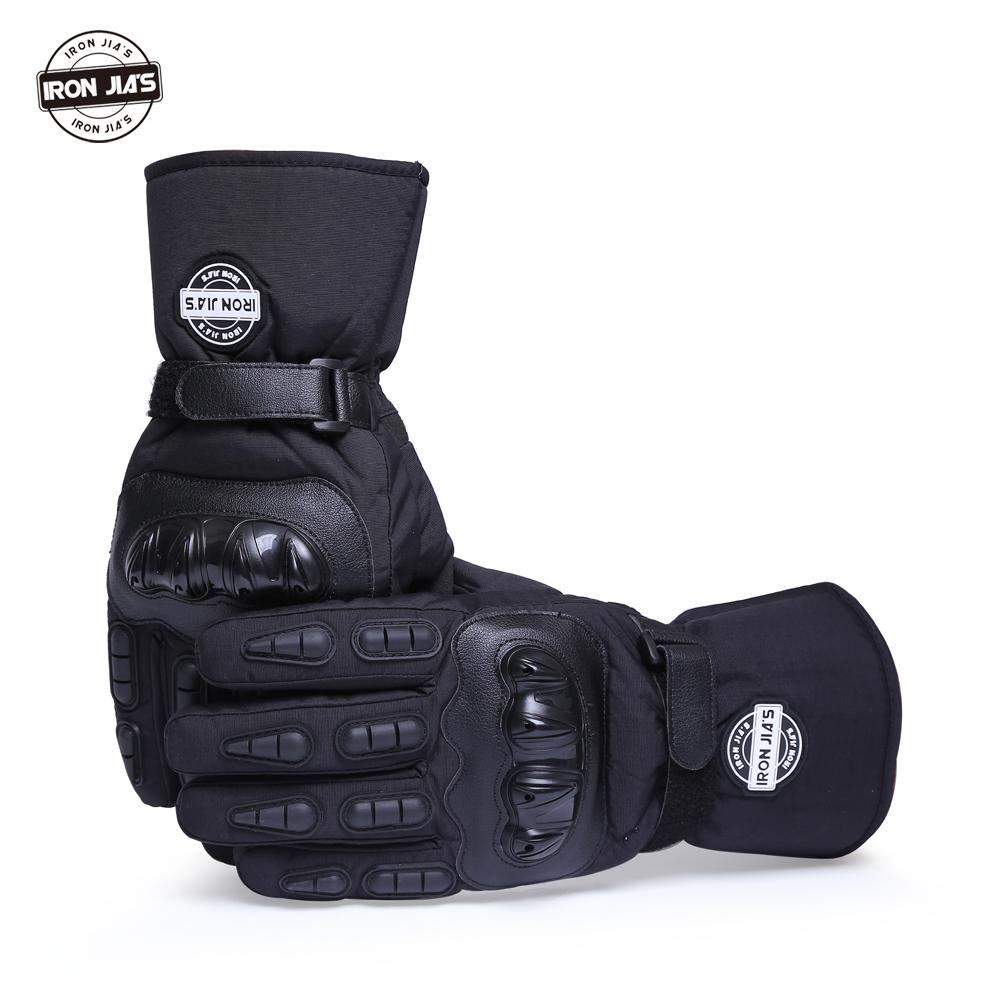 Prix pour Gants de moto hiver chaud et imperméable coupe-vent de protection gants 100% étanche gants moto luvas alpine motocross étoiles