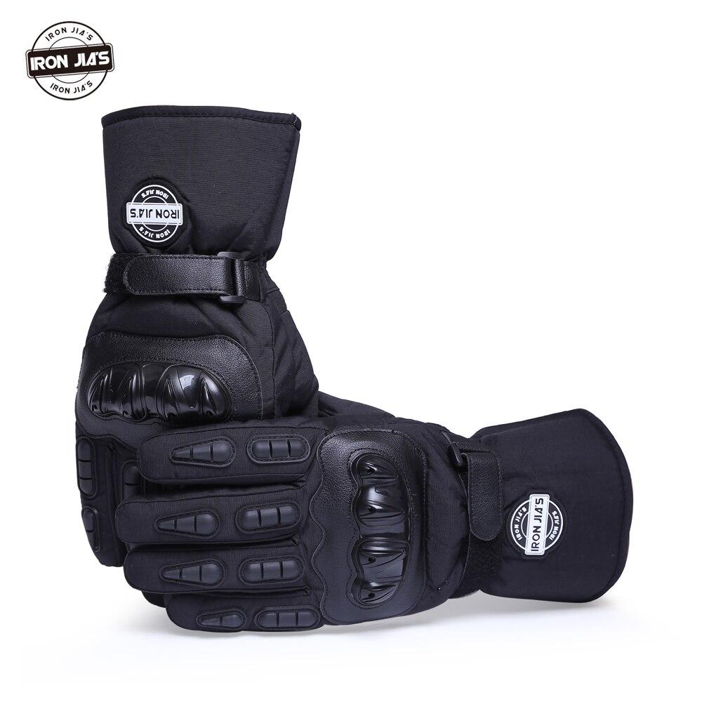 Motorcycle Gloves Winter Warm Waterproof Windproof Protective Gloves 100% Waterproof  Guantes Moto Luvas Alpine Motocross Stars