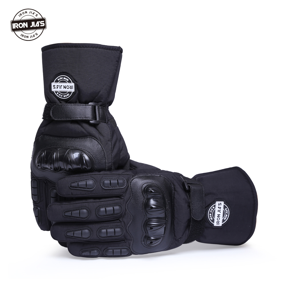 Motorcycle <font><b>Gloves</b></font> Winter Warm Waterproof Windproof Protective <font><b>Gloves</b></font> 100% Waterproof Guantes Moto Luvas Alpine Motocross Stars