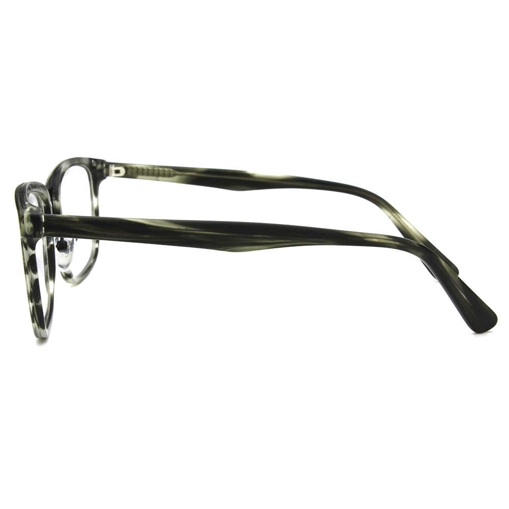 df94c48665e9 ... Mens Black RX Prescription Eye Glasses Frames For Women Vintage Metal  Bridge Optical Specs Frames Designer ...