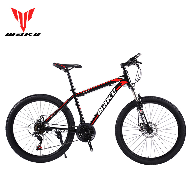 Mountain Bike MAKE 26 21 Speed Disc Brakes Steel Frame image