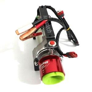Image 5 - Электрический rc стартер двигателя для 15cc   80cc RC модели, бензиновый нитро двигатель, Rc самолет вертолет