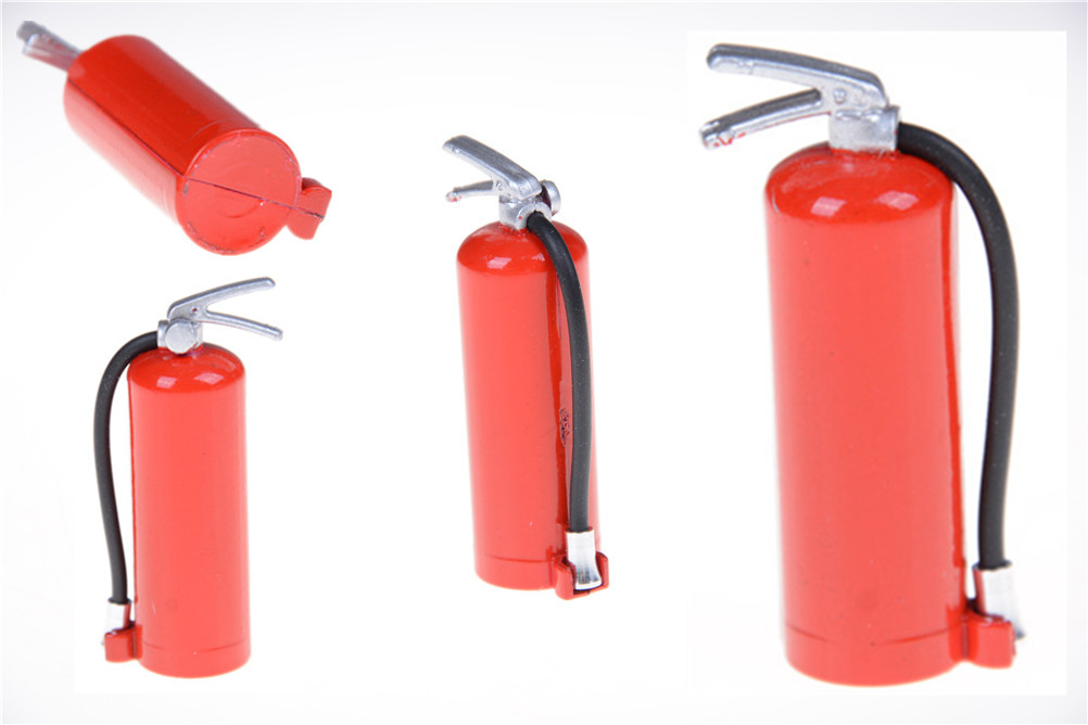 Hot Sale New RC Car Fire extinguisher Toy Accessories RC Climbing Truck Car Dollhouse Ac ...