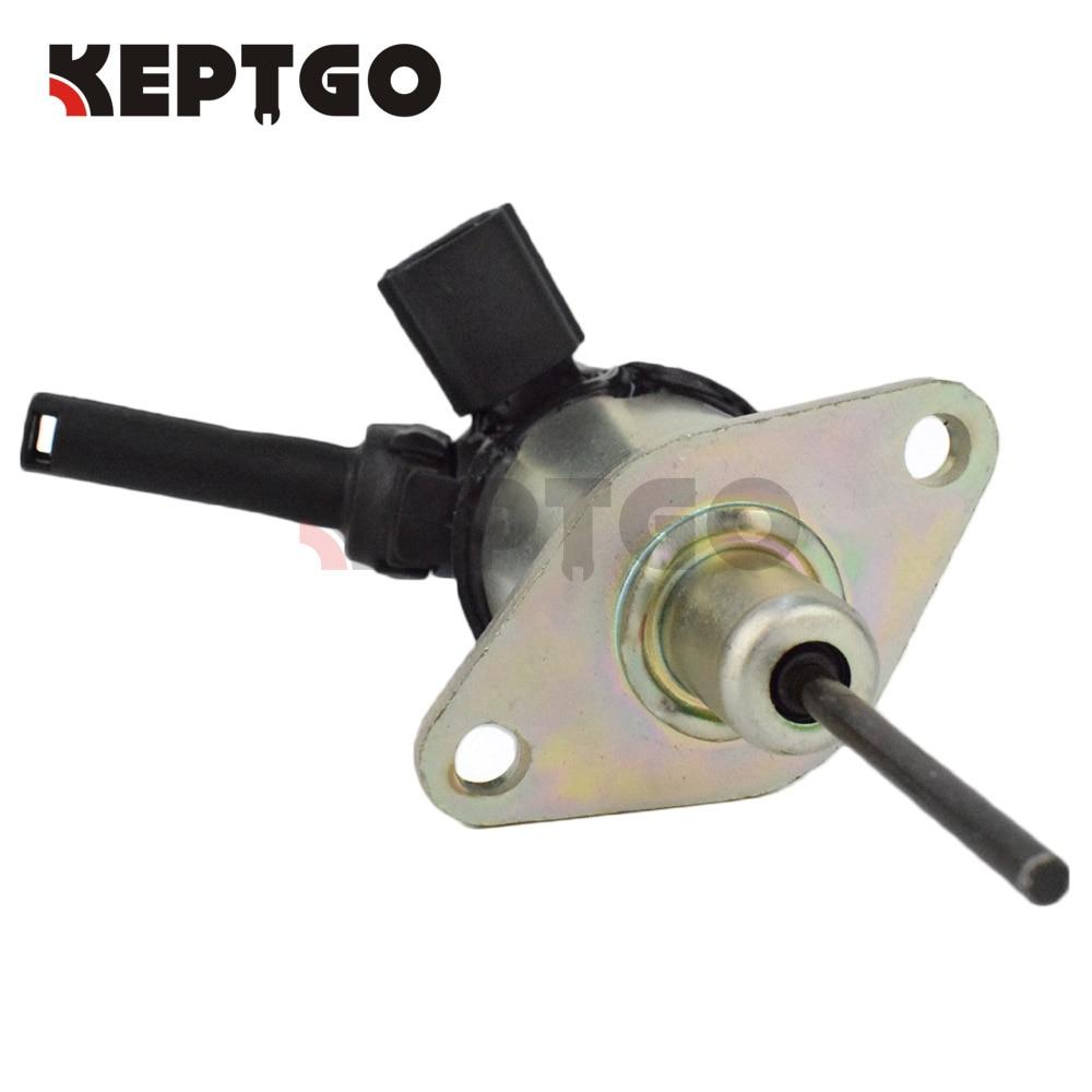 Fuel shut off solenoid For Kubota V2003 V2203 V2403 D1503 D1703 1A021 60017 1A021 60015 1A021
