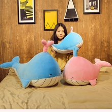 Stuffed Animal Whale  Plush Toy Soft Ocean Toys Birthday Gifts For Children