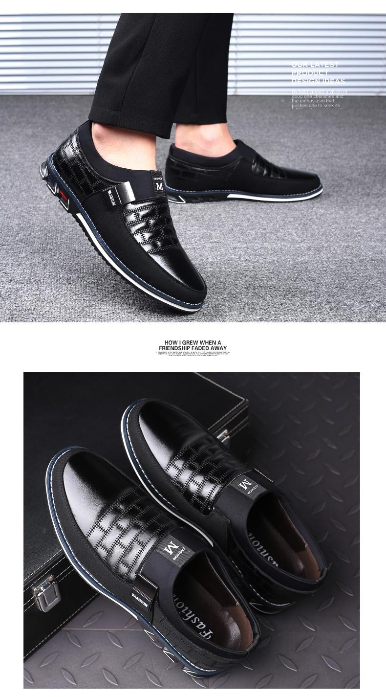 HTB1HeODaVY7gK0jSZKzq6yikpXaZ ZUNYU New Big Size 38-48 Oxfords Leather Men Shoes Fashion Casual Slip On Formal Business Wedding Dress Shoes