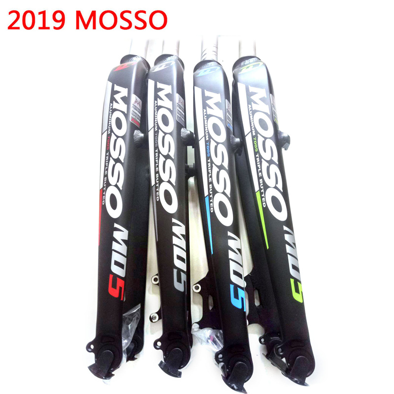 2019 NEW Mosso Fork MD5 Road <font><b>MTB</b></font> Fork 26 <font><b>27.5</b></font> 29 Bicycle Fork <font><b>suspension</b></font> Front forks different to SR SUNTOUR Hot Selling image