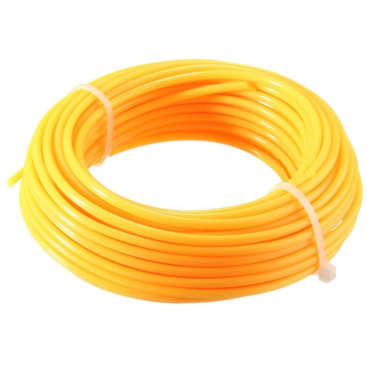 3 Color Nylon Strimmer Line Cord Wire Brushcutter Round String Rope 2mm*10m Mayitr Garden Tools oumily reflective multi purpose paracord nylon rope cord reflective grey 30m 140kg