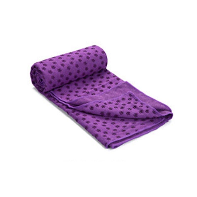 New Yoga Mat Blankets Towel Plum Flower Point Sport Fitness Exercise Towels Anti-slip Blankets 183*63cm/183*80cm B2C Sho