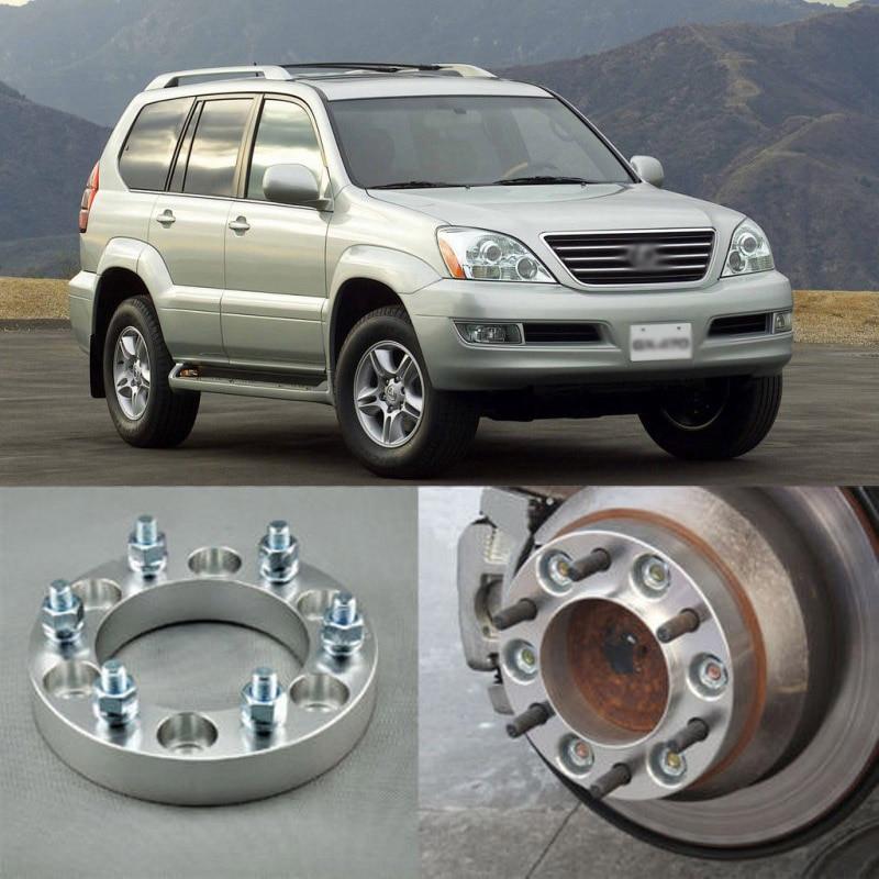 Teeze 4pcs Billet 6 Lug 12x1.5 Studs Wheel Spacers Adapters For Lexus GX 2004 2017|adapter|adapter wheel|  - title=
