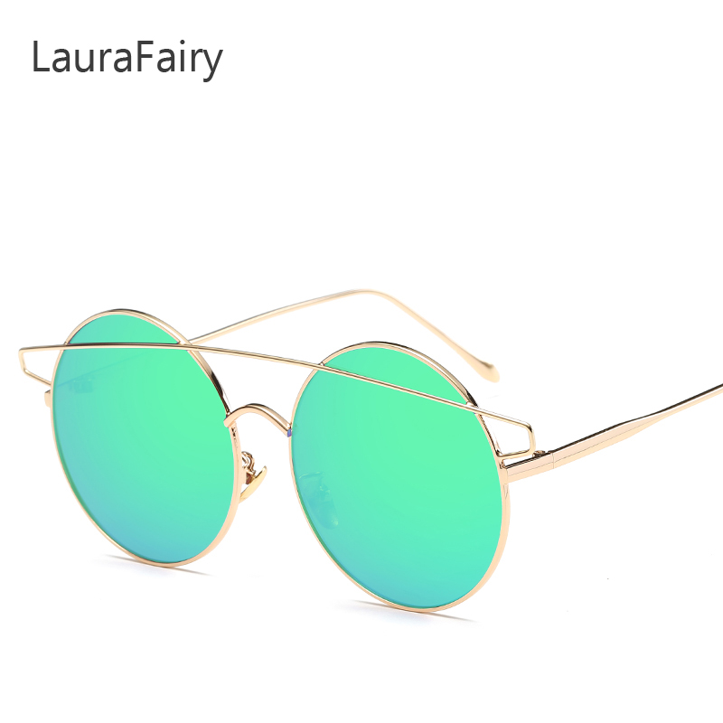 Laura Fairy Sunglasses Men Round Sunglass Steampunk Coated Glasses New Design font b gafas b font