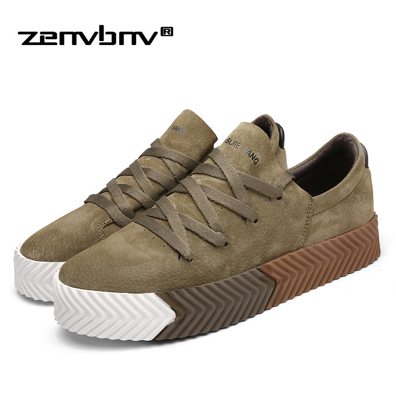 New Fashion Men Casual Shoes Spring Breathable Soft Pig Suede Leather Driving Men's Shoes Handmade Chaussure Homme Men's Loafers