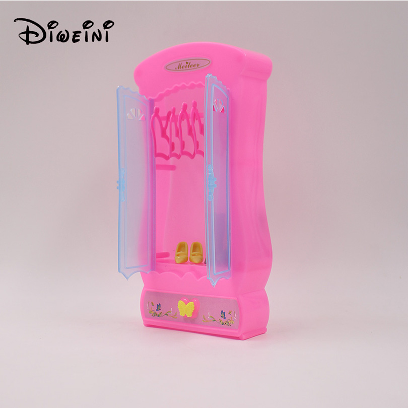Dome Wardrobe Princess Room Toys Pink Not Contain Accessories Pvc Finish Goods Hand To Do Model In Dolls From Hobbies On