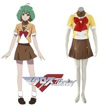 Envío Libre Macross Frontier Mihoshi Academia Anime Cosplay Traje de Marinero Uniforme Escolar de Las Niñas PRIMERO