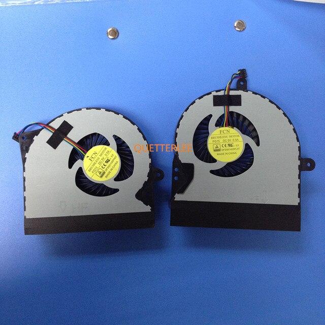 Pair New Original cpu cooling fan for Asus ROG G751 JY G751ROG G751JT G751JZ G751JL G751JM G751JY KSB0612Hba02  13NB06F1P10011
