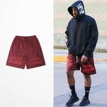 Casual Calabasas Shorts Men Kanye West Saint Pablo Seobean