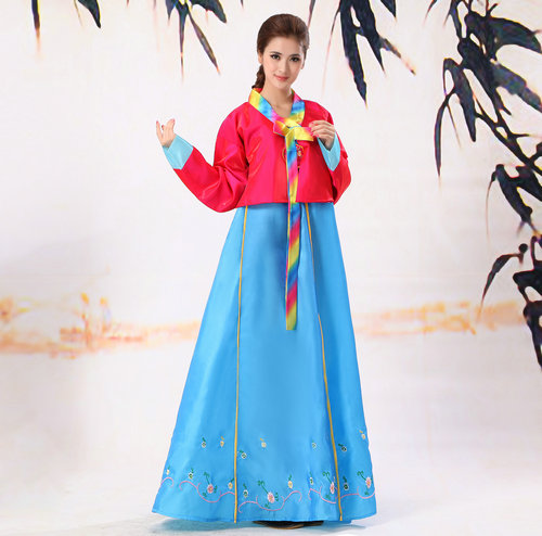 Traditional Korea Women Clothes Modern Female Cosplay Costume Stage Performance Wear Folk Party Dress In Asia Pacific Islands Clothing From