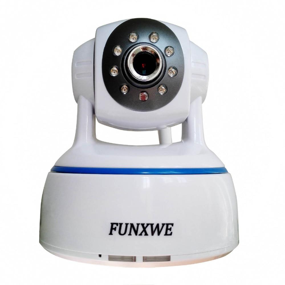 bilder für 1080 P 2.0MP WiFi Drahtlose PTZ Pan/Tilt Digitalzoom 2-wege-audio P2P IP Baby Kamera Alarm I/O-port Onvif TF SD Card Slot weiß
