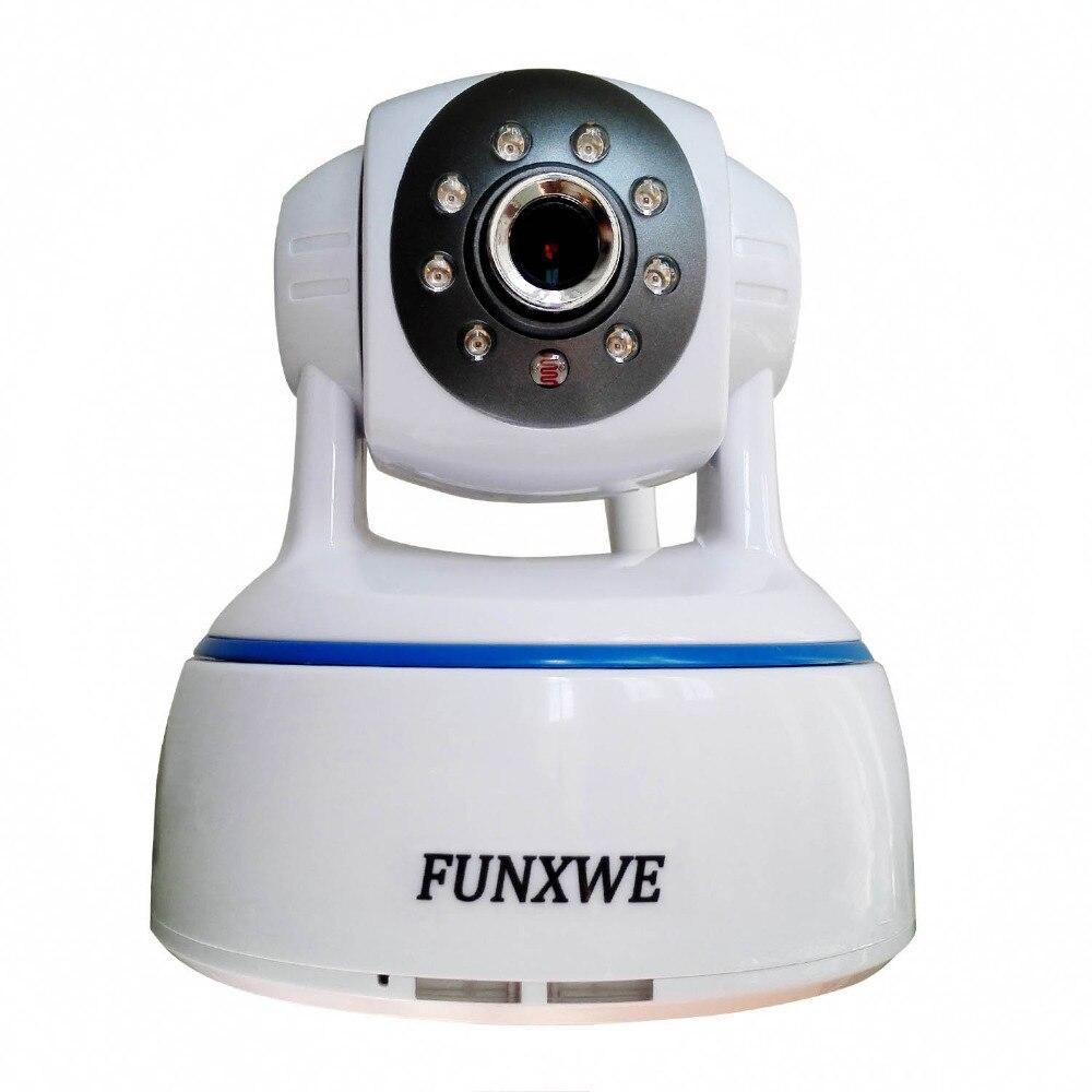 imágenes para 1080 P 2.0MP WiFi Wireless PTZ Pan/Tilt Zoom Digital 2-way Audio P2P Ip Bebé Alarma I/O Port Onvif TF Ranura Para Tarjeta SD blanco