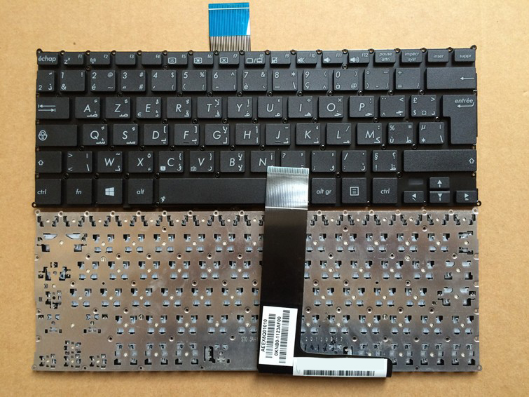 New notebook laptop keyboard for asus X200MA X200 Ar+fr/AF layout
