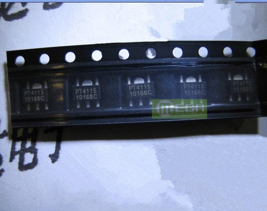 10PCS/LOT 100% NEW POWTECH PT4115 PT4115B89E MR16 / LED Drive Power SOT89 IC (PT4115)