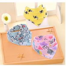 New Saliva Towel Cotton Baby Triangle Newborn Children Bibs INCLUDING SHIPPING