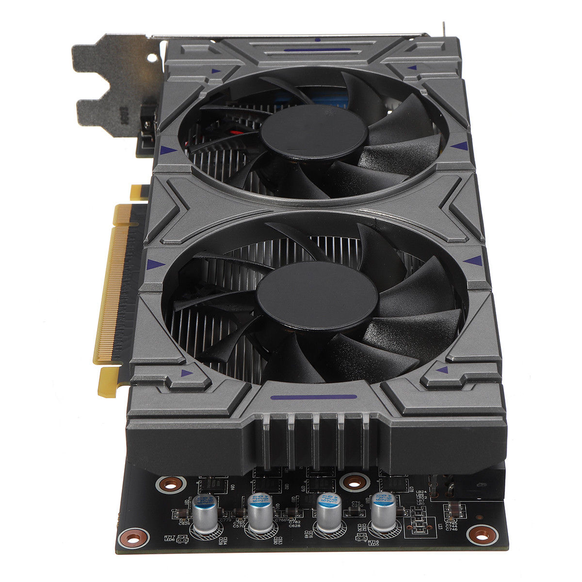 BLEL Горячие GTX 1050 2 ГБ GDDR5 128Bit VGA, DVI, HDMI Графика-карты для NVIDIA GeForce