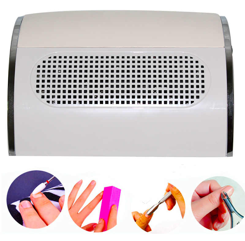 Вентилятор для ногтей арт салон всасыватель, пылесборник машина пылесос с 3 вентилятором 40 Вт УФ гель лак пылесос
