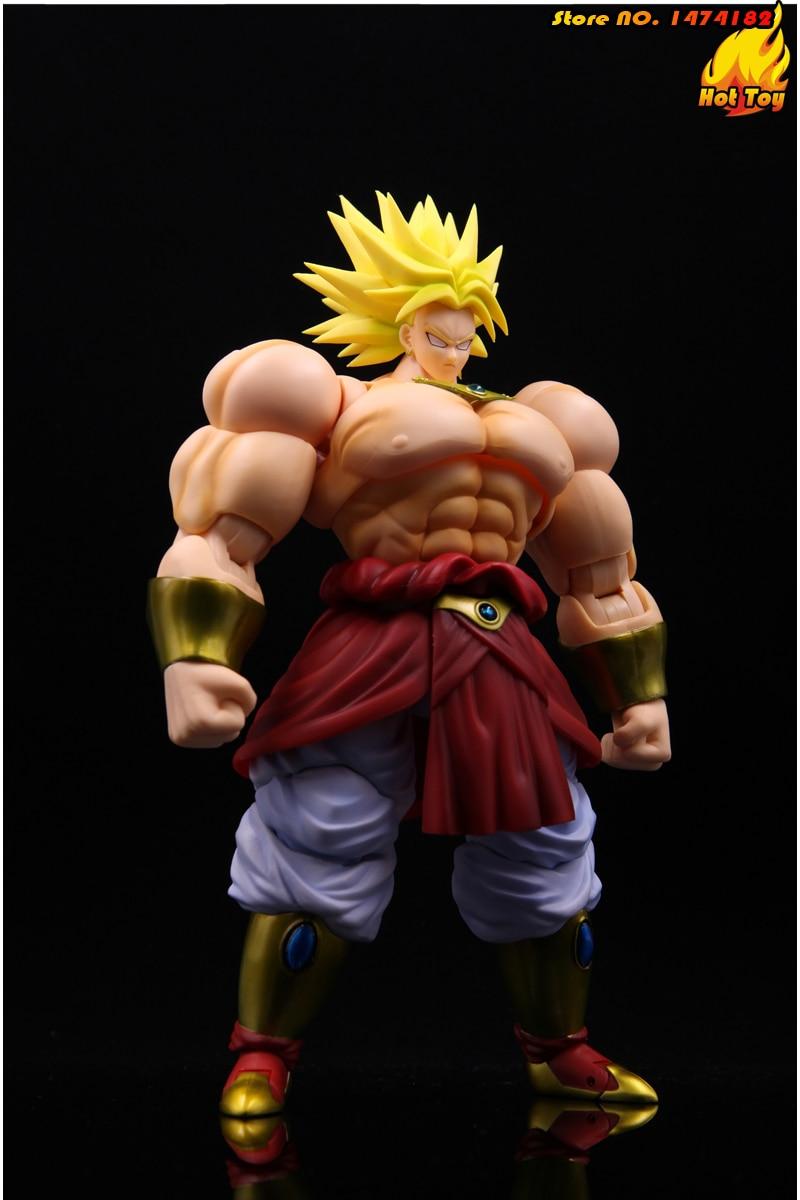 "100% figurine originale BANDAI Tamashii Nations S. H. Figuarts (SHF) Super Saiyan Broly de ""Dragon Ball Z""-in Jeux d'action et figurines from Jeux et loisirs    3"
