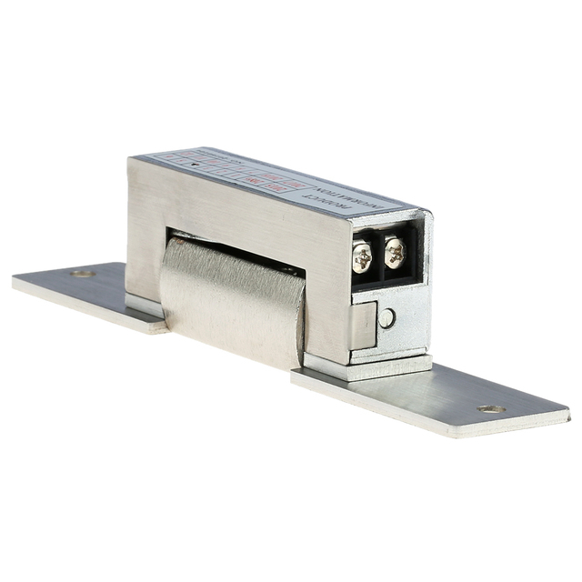 Stainless Steel 150KG/330lb Electronic Door Lock Electric Strike Lock DC12V Magnetic Induction Door Entry Access Control System